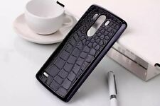 New Crocodile PU Leather Skin Hard Back Cover Case Protector Case For LG G3
