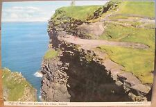 Irish Postcard CLIFFS OF MOHER Lahinch County Clare Ireland John Hinde 2/39 4x6