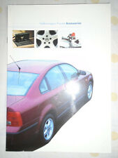 VW Passat Accessories brochure 1997
