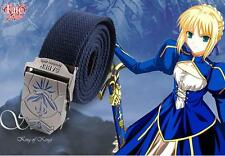 Zero Saber Anime Fate Stay Night Canvas Cotton Belt Cosplay Gift