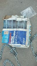 Car or light truck 205 215 75 70 15 14 Campbell 1854 tire chains made in the USA