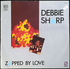 DEBBIE SHARP - Zapped By Love - Spain Zafiro 1985 MaxiSingle - Maxi Single 45rpm