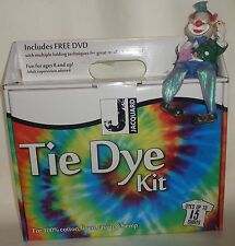 JACQUARD TIE DYE KIT FREE DYD GREAT FUN for 10 to 15 SHIRTS