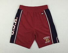 Vintage Tommy Hilfiger Jeans Sport 85 Red USA Basketball Shorts Men's Small S