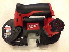 New Milwaukee 2429-20 M12 12V 12 Volt Sub-Compact Band Saw With Blade