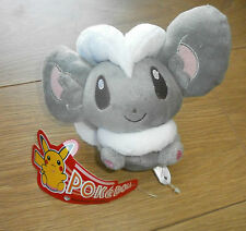 Pokemon Cinccino Plush-Pokedoll-Raro-Pokemon Center - 2010 - 5 ""