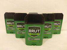 6 Brut Deodorant Brut Instinct Fragrance Net Wt 2.25 Oz NEW!