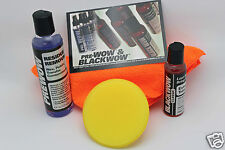 Black- Wow/Pre Wow Combo Kit with Applicator-Clean and Renew Plastic Trim!