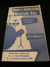 Partition Mamy's Charleston Missisou Fox J Blanchard