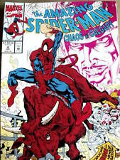 Spider Man The Amazing n°4 1992 Chaos Calgary  ed. Marvel Comics  [G.222]