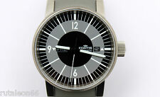 FORTIS SPACEMATIC CLASSIC BLACK  wrist watch 623.10.158 (NEW old stock) #1593