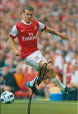 Jack WILSHERE Arsenal SIGNED COA Autograph 12x8 Photo AFTAL The Gunners RARE