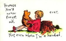 Winnie the Pooh - Promise You'll Never Forget Me, Ever...  iron on transfer 4x6