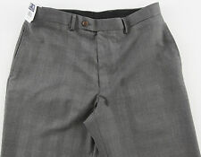 Men's RALPH LAUREN Gray Black Glen Plaid Dress Pants 38x30 38 NWT NEW Washable