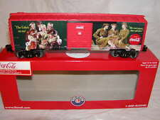 Lionel 6-83775 Coca Cola Military Heritage Box Car #1 O-27 MIB New 2016 Coke USA