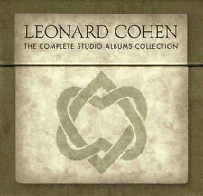 LEONARD COHEN, THE COMPLETE STUDIO ALBUMS COLLECTION (SEALED) + BOOK