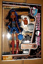 MONSTER HIGH ROBECCA STEAM DAUGHTER OF A MAD SCIENTIST DIARY OWL 2011 !!!!