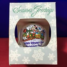 Signature of Christmas Ball Ornament Disney Cast Christmas Party 1990 New