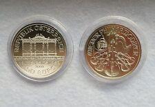 1 Unze Silber Münze Wiener Philharmoniker 2009 in Kapsel 1 oz. 999  Silver BU *