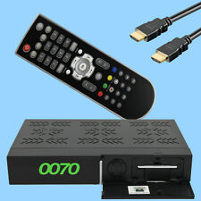 HD Plus Digital Satellite Receiver 6 Months HD + Card Full HDTV HDMI LAN Scart