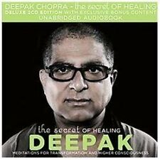 The Secret of Healing by Deepak Chopra (2011, CD, Unabridged)
