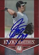 Nick Basto Chicago White Sox 2012 Panini Elite Signed Card