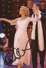 STRICTLY COME DANCING: FELICITY KENDAL SIGNED 6x4 ACTION PHOTO+COA