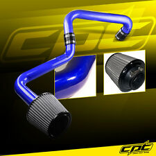 01-05 Honda Civic Automatic 1.7L Blue Cold Air Intake + Stainless Steel Filter