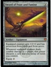 MTG 1x SWORD OF FEAST AND FAMINE - Modern Event Deck *Top Rare Equipment NM*