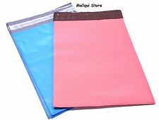 50 BLUE & PINK POLY SHIPPING BAGS 7.5 x 10.5 MAILER PLASTIC ENVELOPES MAILING