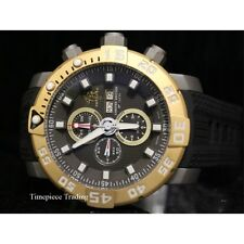 Invicta Sea Base Chrono Gunmetal Dial ETA 7750 Automatic Titanium Mens Watch