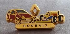 RARE PIN'S ROUBAIX RENAULT TWINGO F1 WILLIAMS CANON ZAMAC DECAT PARIS
