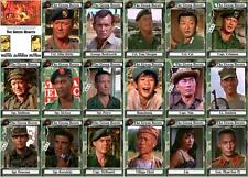 The green berets john wayne movie trading cards