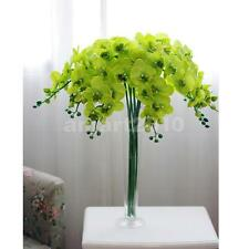1pc Artificial Green Butterfly Orchid Flower Plant Wedding Party Decoration