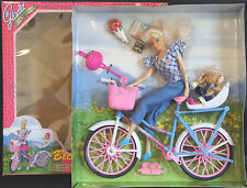 GLORIA Furniture Doll House Bicycle FUN Bicycle + Baby Doll FOR BARBIE