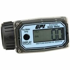 Great Plains Industries - GPI 113255-4 1 in. NPT Nylon Water Meter