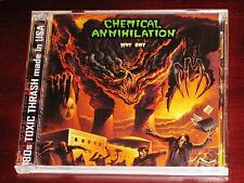 Chemical Annihilation: Why Die? CD DVD Set 2009 Stormspell Records SSR-DY22 NEW