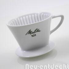 Melitta Kaffeefilter Nr.101 3 Loch Porzellan Filter Schnellfilter coffee D417