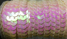 6mm Strung Sequins Sequin Trim Hologram Colours
