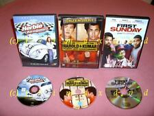 3xDVD _Herbie Fully Loaded + First Sunday + Harold & Kumar Flucht aus Guantanamo