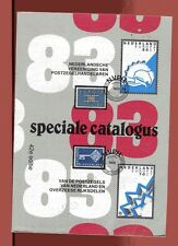 SPECIALE CATALOGUS Stamps of Nederland Indonesie New Guinea Curacao 1983 Illustr