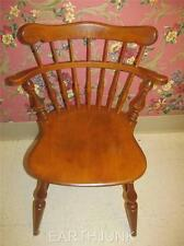 Ethan Allen Comb Back Side Chair Heirloom Nutmeg Maple 10 6040 Made in USA
