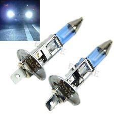 2 pièces blanches Brouillard Ampoule halogène 100W voiture  12V H1 Super Bright
