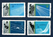 3552-55a Winter Olympics Set Of 4 Mint/nh (free shipping offer)