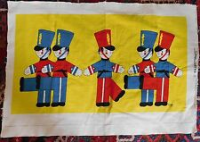 Vintage Streamline Toy Soldier by Gaby Cotton Canvas Wall Art Mid Century Unused