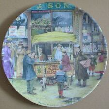 Davenport Collectors Plate THE ICE-CREAM SELLER From THE CRIES OF LONDON