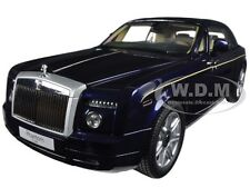 2003 ROLLS ROYCE PHANTOM COUPE PEACOCK BLUE 1/18 DIECAST MODEL KYOSHO 08861 PB