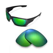 New Walleva Polarized Emerald Lenses For Oakley Style Switch Sunglasses
