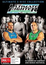 UFC - Ultimate Fighter : Season 1 Liddell vs Couture (DVD,2013, 5-Disc Set) Reg4