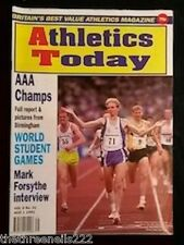 ATHLETICS TODAY - MARK FORSYTHE INTERVIEW - AUG 1 1991
